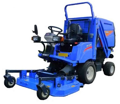Iseki Out Front Mower for sale at Nigel Rafferty Groundcare, Redruth, Cornwall