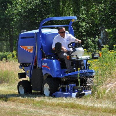 Iseki SF450 Out Front Mower available at Nigel Rafferty Groundcare, Cornwall