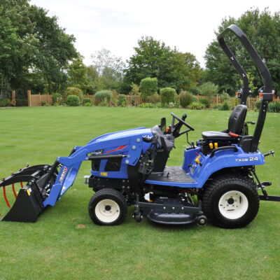 Iseki TXGS24 Compact Tractor available at Nigel Rafferty Groundcare, Redruth