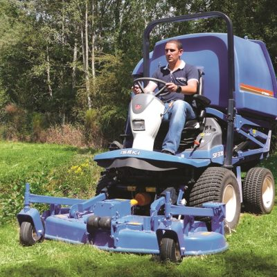 ISEKI SF370 Out-front mower available at Nigel Rafferty Groundcare, Redruth
