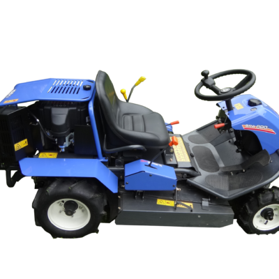 Iseki SRA800 Ride-on Brushcutter, available at Nigel Rafferty Groundcare, Redruth