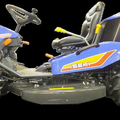 Iseki SRA950F Ride-on Brushcutter, available at Nigel Rafferty Groundcare, Redruth