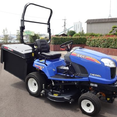 ISEKI SXG323 with ROPS ride on mower available at Nigel Rafferty Groundcare, Redruth
