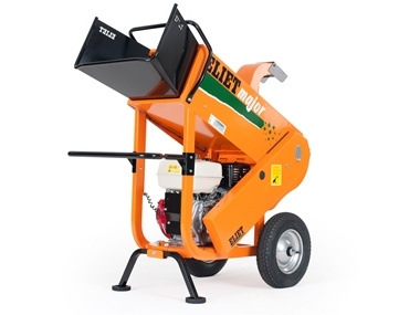 Eliet Professional 4S Green Waste Shredder / Chipper supplied by Nigel Rafferty Groundcare Redruth Cornwall