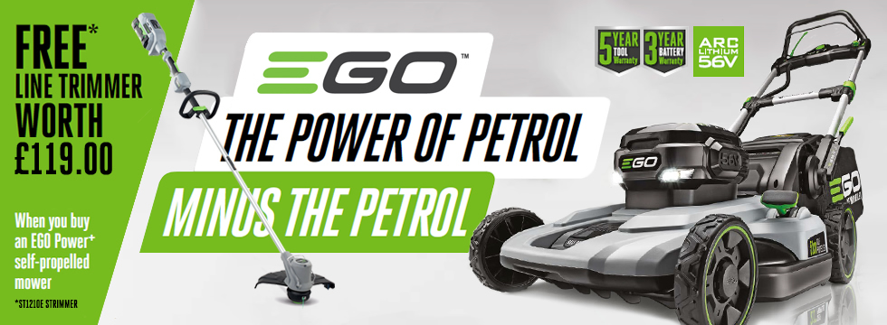 EGO STRIMMER OFFER IS BACK FOR 2018!