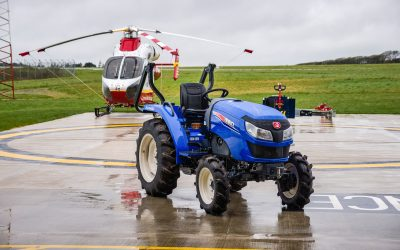NIGEL RAFFERTY GROUNDCARE OFFERS FIRST AID TO CORNWALL AIR AMBULANCE