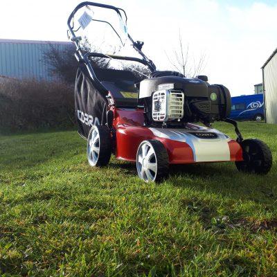 Cobra M40SPB Self Propelled Mower at Nigel Rafferty Groundcare, Cornwall