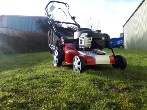 Cobra M40SPB Self Propelled Mower at Nigel Rafferty Groundcare, Cornwall