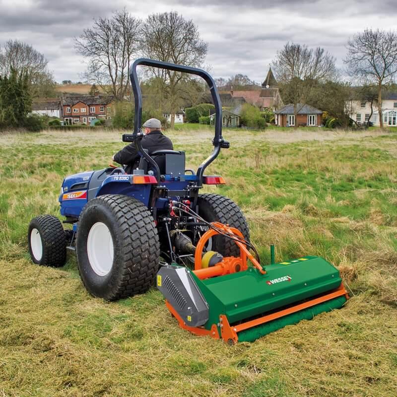 Wessex Flail Mower WFM-175 – Nigel Rafferty Groundcare