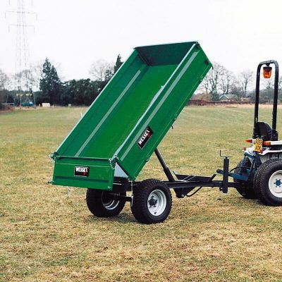 Wessex Hydraulic Tipping trailer available at Nigel Rafferty Groundcare