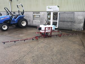 Team Sprayer Basic Tractor Mounted Sprayer available at Nigel Rafferty Groundcare Cornwall
