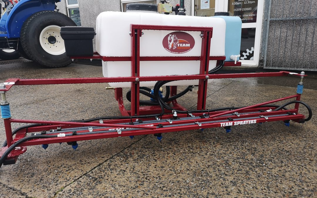 FOR SALE – TEAM SPRAYER BASIC TRACTOR MOUNTED SPRAYER – ONLY £995 + VAT!
