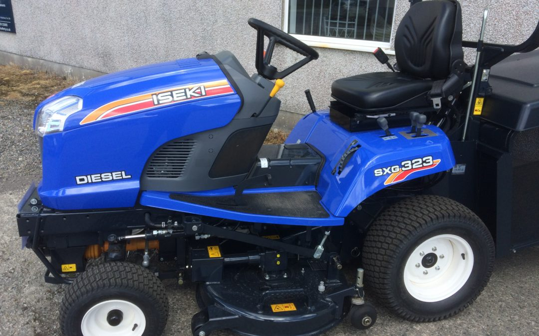 Ride-on Mower For Sale – Iseki SXG323 Diesel