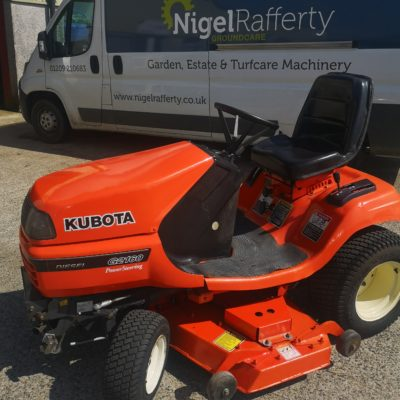 Secondhand Kubota G2160 Ride-on Mower available at Nigel Rafferty Groundcare, Redruth