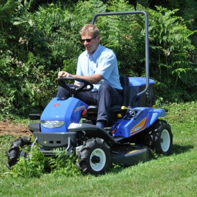 Iseki SRA950F Ride on Brushcutter available at Nigel Rafferty Groundcare, Cornwall