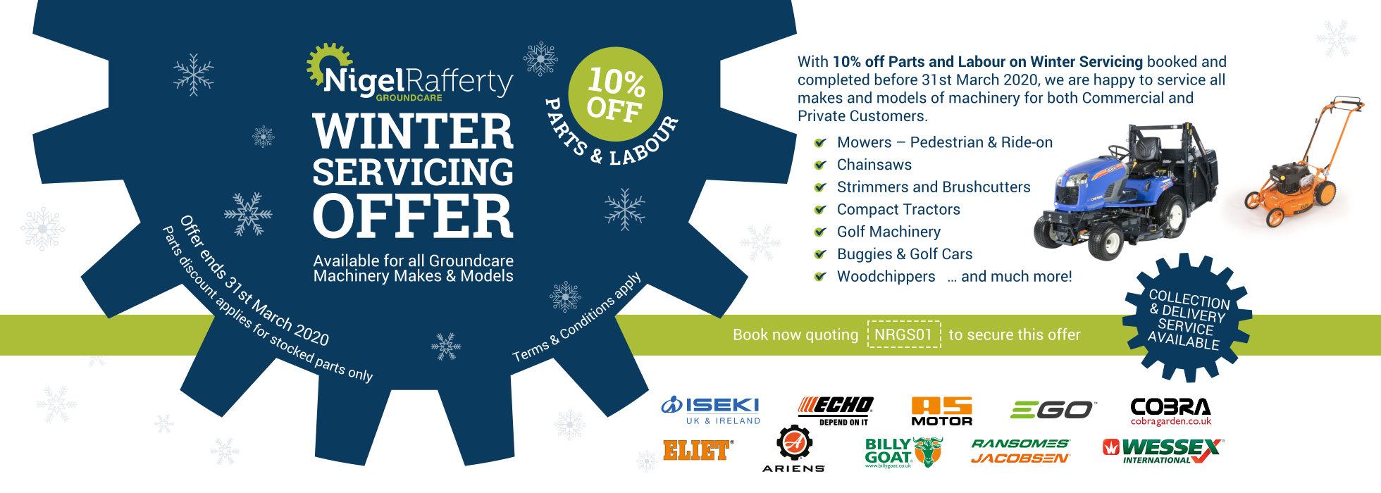 Winter Servicing offer