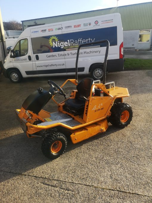 AS940 Sherpa Ride-on Brushcutter available for sale at Nigel Rafferty Groundcare Redruth