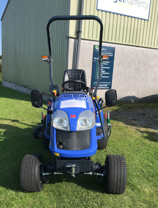Iseki TXG 237 Compact Tractor available at Nigel Rafferty Groundcare, Cornwall