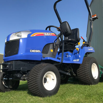 Iseki TXG 237 Compact Tractor available at Nigel Rafferty Groundcare, Cornwall
