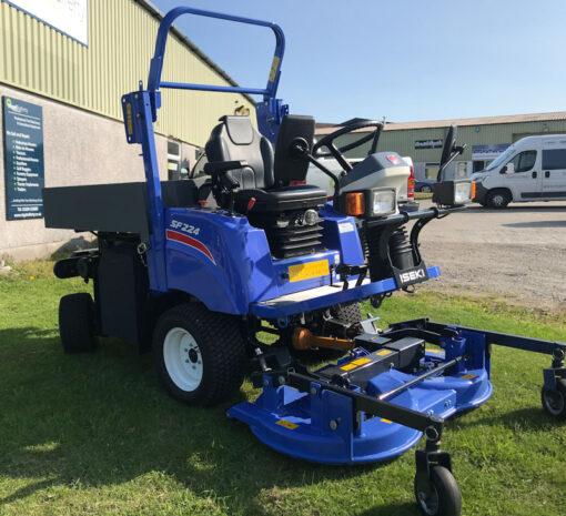 Iseki SF224 available at Nigel Rafferty Groundcare, Cornwall