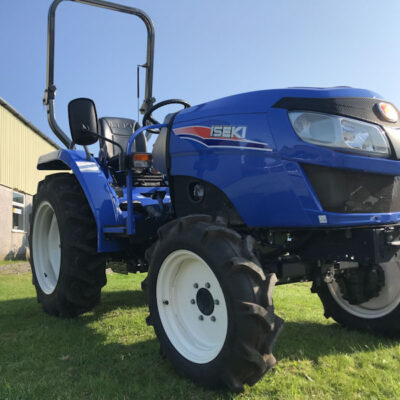 Iseki TLE3400 available at Nigel Rafferty Groundcare, Cornwall