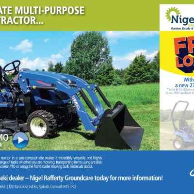 Iseki TXGS24 Compact Tractor & Loader Offer