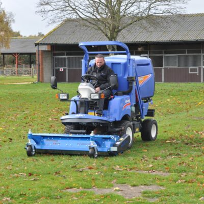 Iseki SF450 Out Front Mower with Muthing Flail available at Nigel Rafferty Groundcare, Cornwall