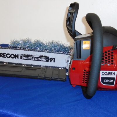 Cobra CS420-16 Petrol Chainsaw for sale at Nigel Rafferty Groundcare, Redruth