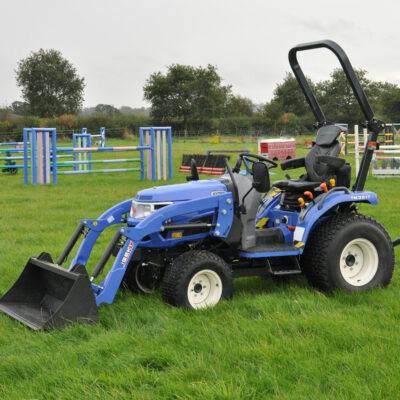 Iseki TM3217 Compact Tractor available at Nigel Rafferty Groundcare, Cornwall